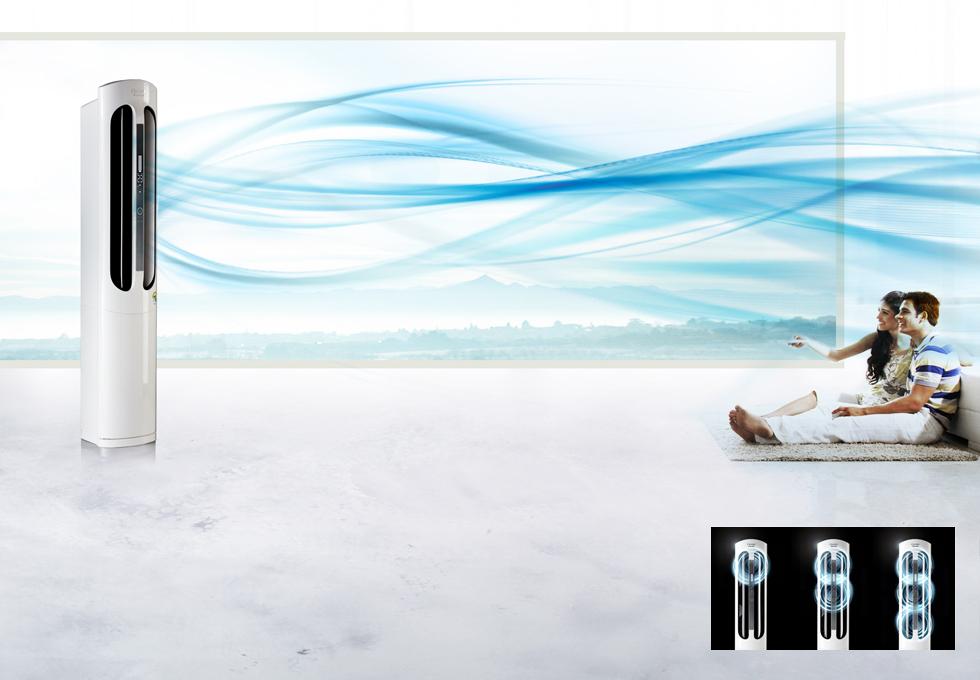 트리플 허리케인 초강력 냉방